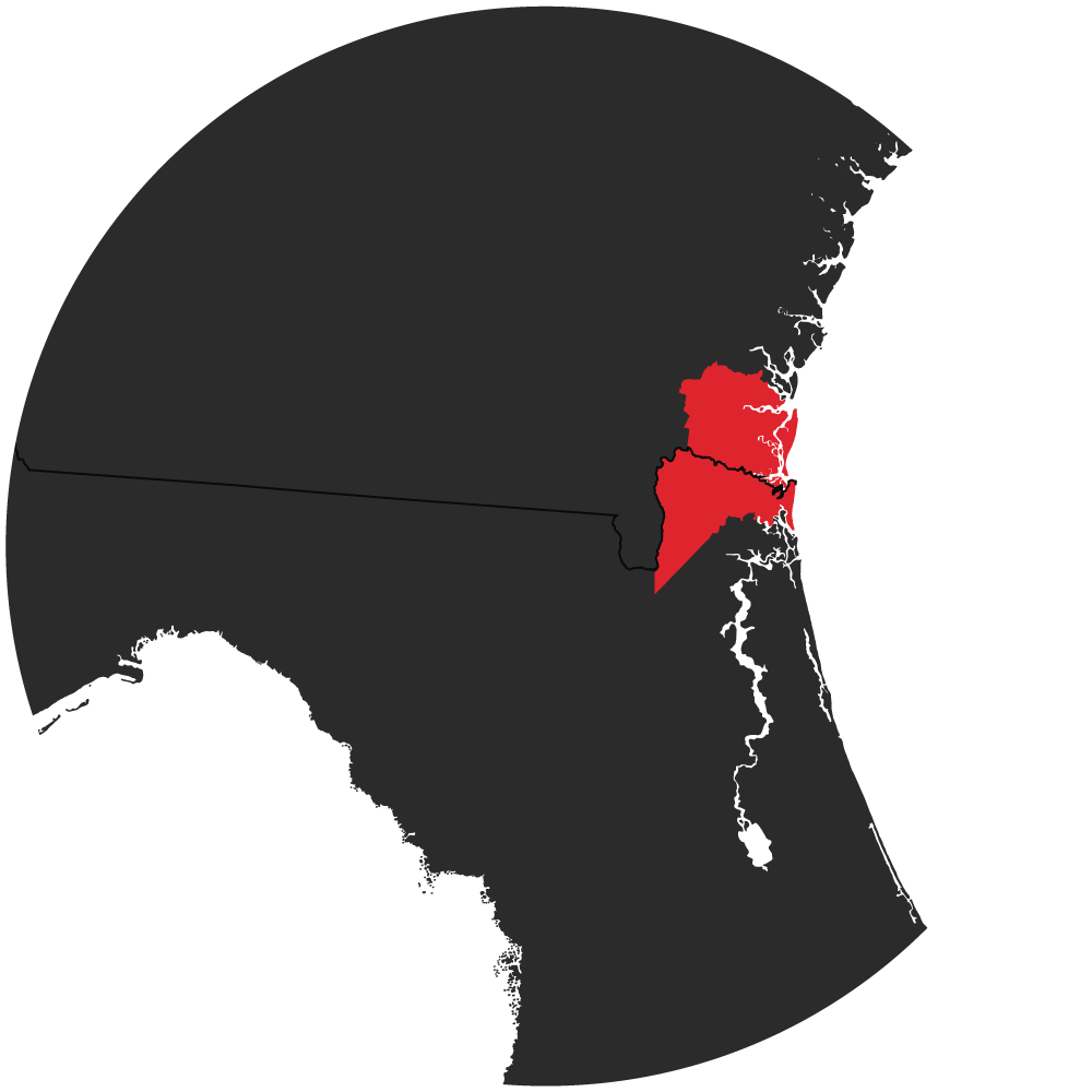 Florida and Georgia Counties